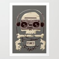Art Print featuring Doombox by Fightstacy