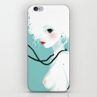 Black pearls iPhone & iPod Skin