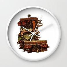 Burger I / Color Wall Clock