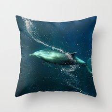 SanJose waters. Throw Pillow