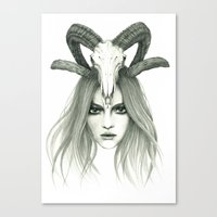 Zodiac - Aries Canvas Print