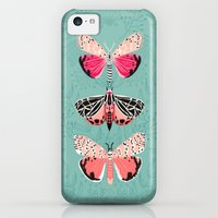 iPhone 5c Cases featuring Lepidoptery No. 6 by Andrea Lauren by Andrea Lauren Design