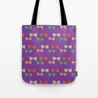 Hipster Bow Tie  Tote Bag