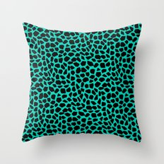 Berlin Boombox Animal Pattern Throw Pillow