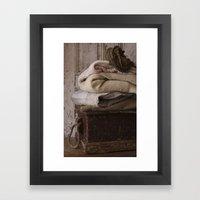 Les Tissus Framed Art Print