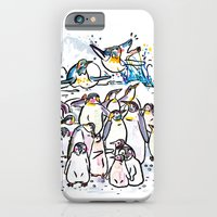 Penguin family iPhone 6 Slim Case
