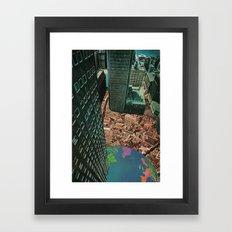 worlds in worlds Framed Art Print