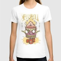 Jellyroll #9: Caos Womens Fitted Tee White SMALL