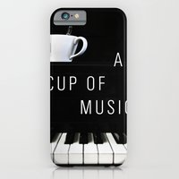 iPhone & iPod Case featuring Piano & Coffee by Altay