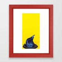 Intellectual Threat Framed Art Print