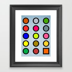 Why a Square? Framed Art Print