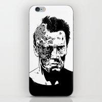 Terminator (b/w) iPhone & iPod Skin