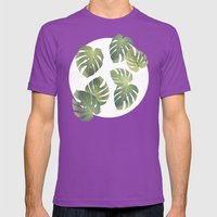 Tropics Mens Fitted Tee Ultraviolet SMALL
