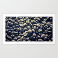 Coffee. One of the greatest addictions! Art Print