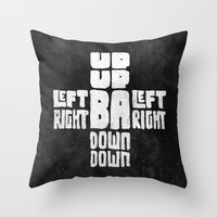 Gamer's Code Throw Pillow