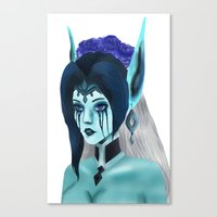 Morgana: Fallen Angel Canvas Print