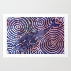 Blubber Money Art Print