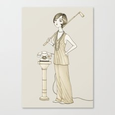The Great Gatsby - Movies & Outfits Canvas Print