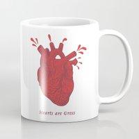 Hearts are Gross Mug