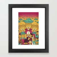 Mars Attacks! Framed Art Print