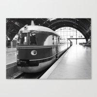 Alter Zug, old train Canvas Print