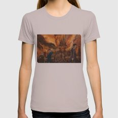 Saviour of Gallifrey Womens Fitted Tee Cinder SMALL