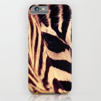 iPhone & iPod Case featuring Zazu the Zebra by Heather Younger
