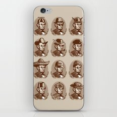 Abe Tries on Hats iPhone & iPod Skin