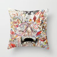 KN/PC: Infinite Jest Throw Pillow