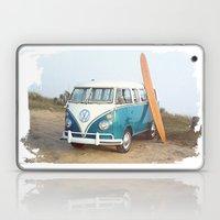 Vintage VW Beach Bus Laptop & iPad Skin