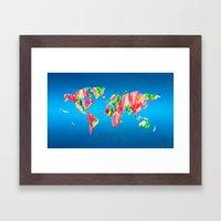 Tulip World #119 Framed Art Print