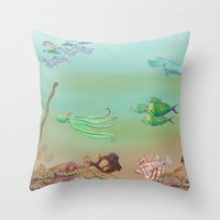 Are You New? Throw Pillow