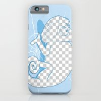 iPhone & iPod Case featuring Transparent mode on by samalope