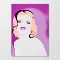 MY MARILYN 3/8 Canvas Print
