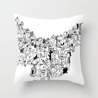 CONFLICTS Throw Pillow