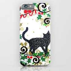 Christmas Cat Slim Case iPhone 6s