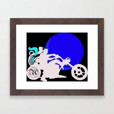 Motor Head Framed Art Print