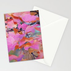 Autumn Rainbow Colors Stationery Cards