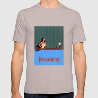 Pocahontas Mens Fitted Tee Cinder SMALL