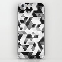 Amped (monochrome Series… iPhone & iPod Skin