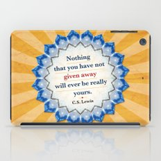 Given Away iPad Case