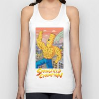 Unisex Tank Top featuring Springfield Champion by Jack Teagle