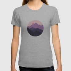 Sunrise Womens Fitted Tee Athletic Grey SMALL