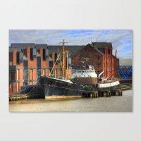 Arctic Corsair, Hull Tra… Canvas Print