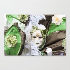 Venetian carnival mask C - Lady Nature Canvas Print
