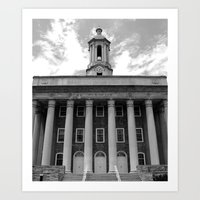 Penn State Old Main #1 Art Print