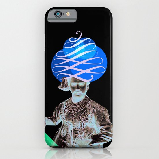 Lettering is a Maharaja's turban iPhone & iPod Case