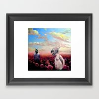 Come On Little Timmy Framed Art Print