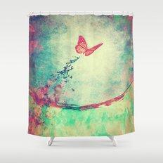 Waterfly II Shower Curtain