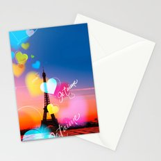 PARIS WITH LOVE Stationery Cards